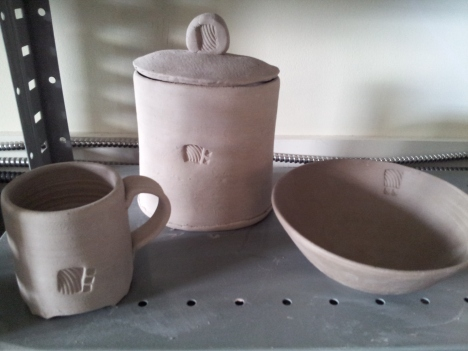 before pots