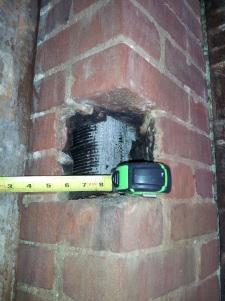 chimney hole
