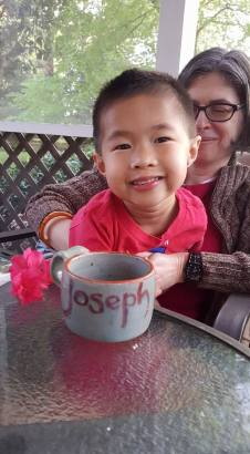 joseph with cup